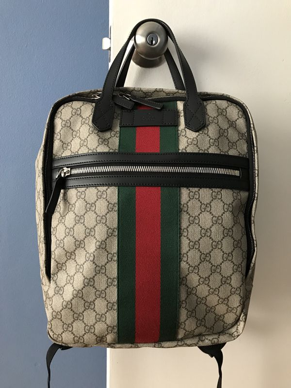 27f6dcd36bad52 Authentic Gucci supreme backpack! for Sale in Daly City, CA - OfferUp