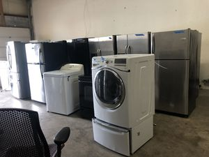 USED WASHER AND DRYERS-ALL BRANDS for Sale in Adelphi, MD