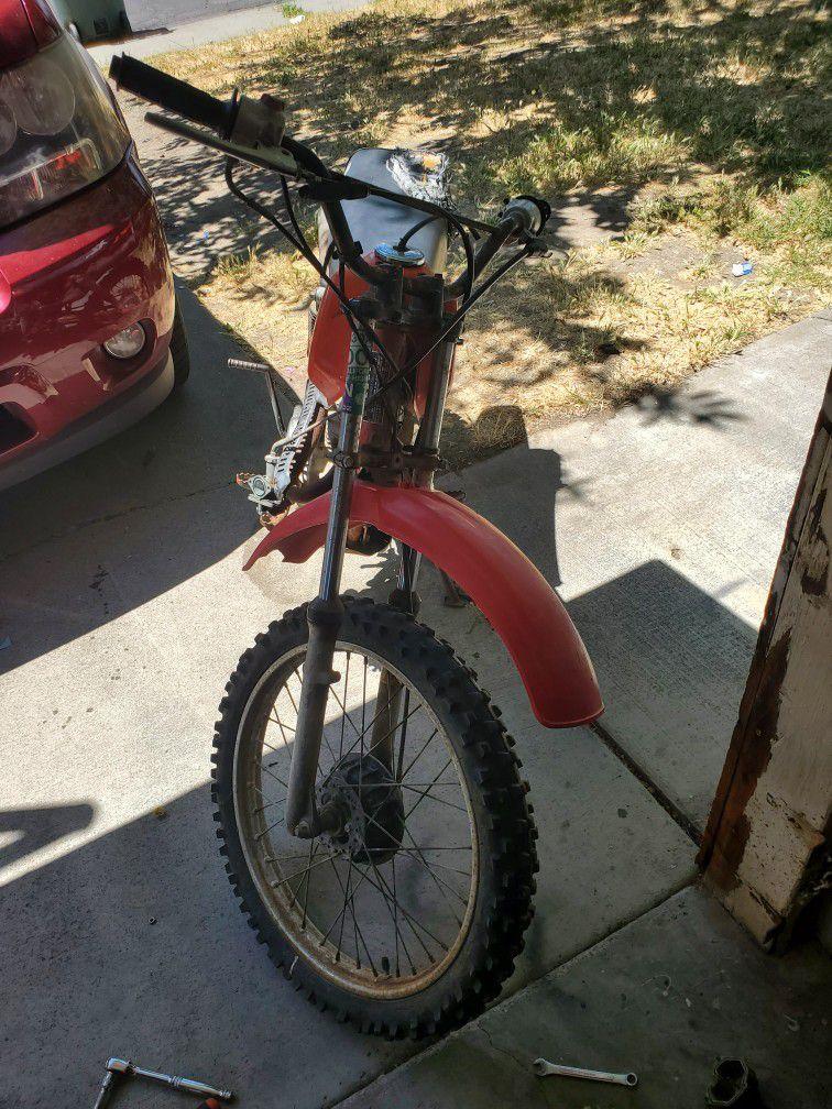 Photo Honda 100cc