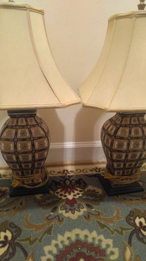 2 table lamps for Sale in Arlington, VA