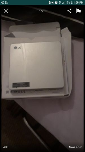 LG portable DVD writter for Sale in Tampa, FL