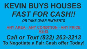 ANY AREA ANY CONDITION for Sale in Houston, TX