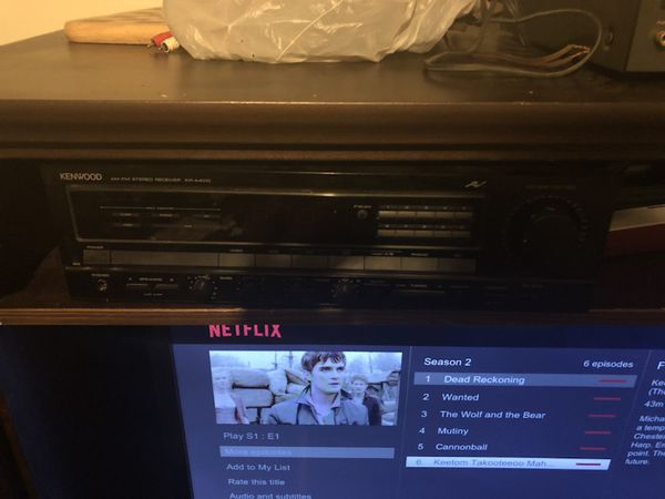 Vintage Denon dr m12hx cassette player, NAD 7240Pe power envelope AM/FM  Stereo receiver, kenwood KR A4010 stereo receiver + sub for Sale in  Whitehall,