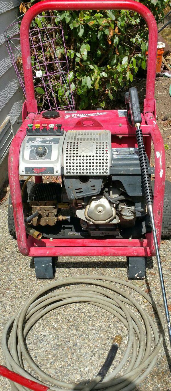 Milwaukee 3750 Psi 13hp Honda Pressure Washer 4555 22 For