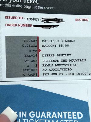 Dierks Bentley tickets for Sale in Nashville, TN
