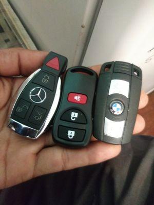 2002 up to 2019 mercedes benz an BMW tenemos solo llaves keys fob con controles remotos estan de ventas aqui for Sale in South Kensington, MD
