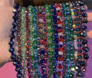 20 strung beads crystal glass for Sale in Wheaton-Glenmont, MD