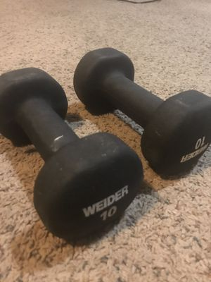 10 lbs hand weights for Sale in Gaithersburg, MD