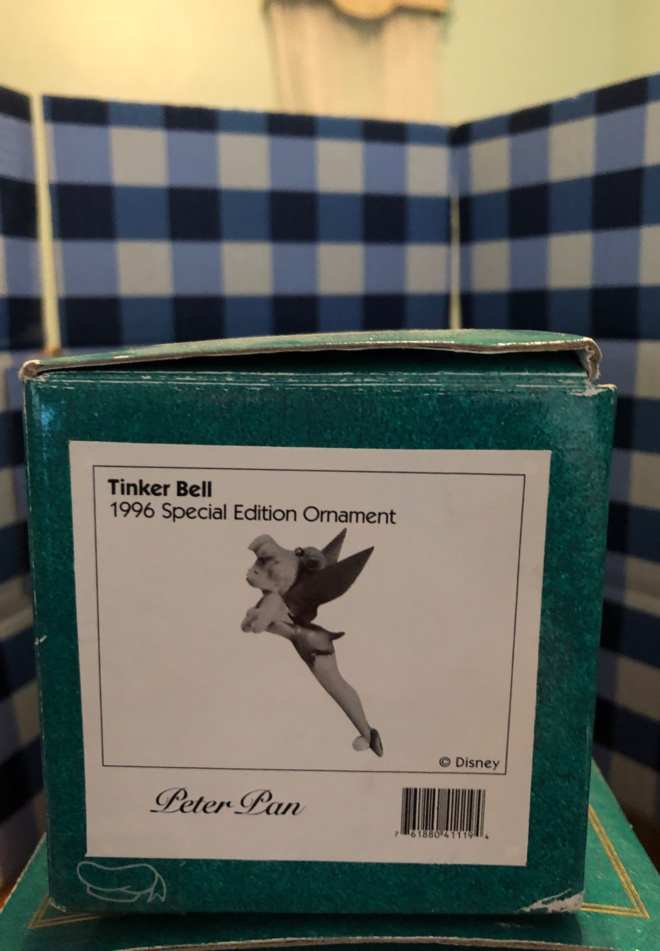 1996 classic Disney Tinkerbell collection figurine & stand