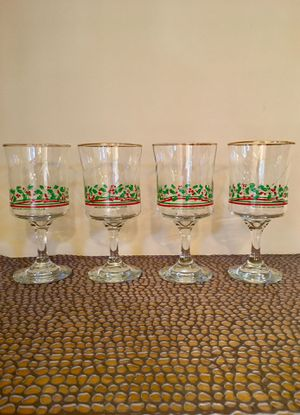 Vintage Arby's 1985 Christmas Collection - Set of 4 Glasses for Sale in Phoenix, AZ