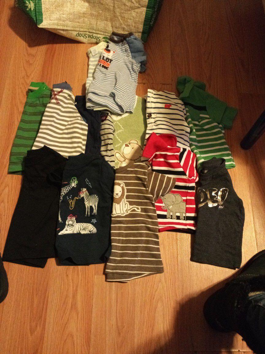 16  Shirts.     3 Months