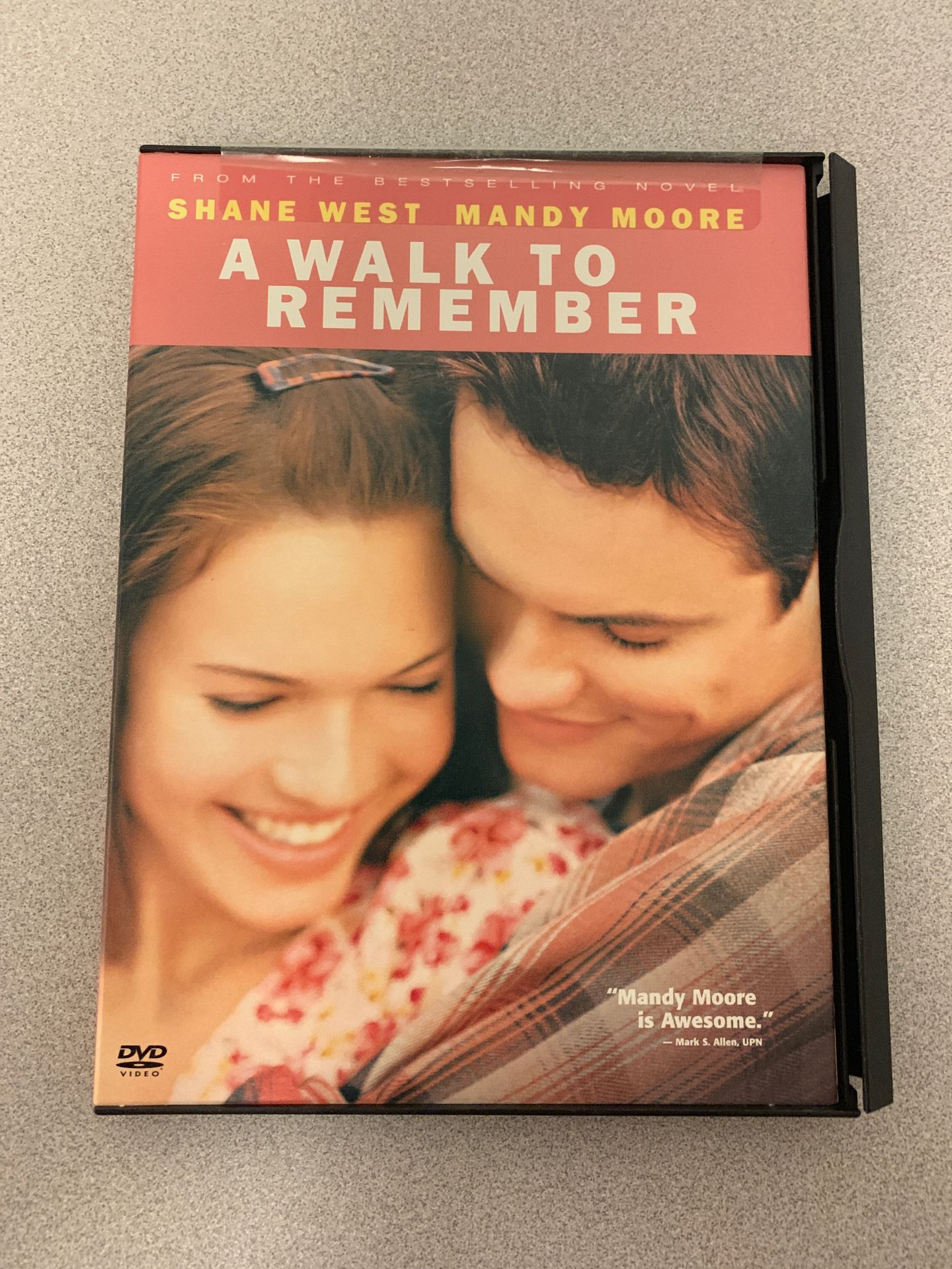 A walk to remember with Mandy Moore DVD