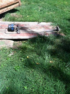 """8"""" cable grinder good condition you can change any wheel wire or sand paper works fine nothing wrong its best one for Sale in Falls Church, VA"""