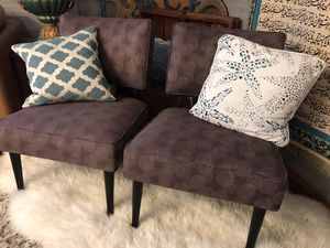 Photo Two chairs for the living room $45 for both