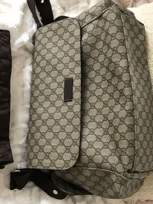 💯Authentic GUCCI DIAPER BAG (Unbeatable) used 2/3 times I'm selling for Sale in Alexandria, VA