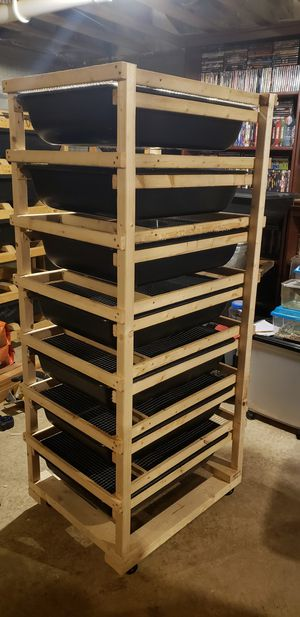 Rat breeding rack for Sale in Columbus, OH