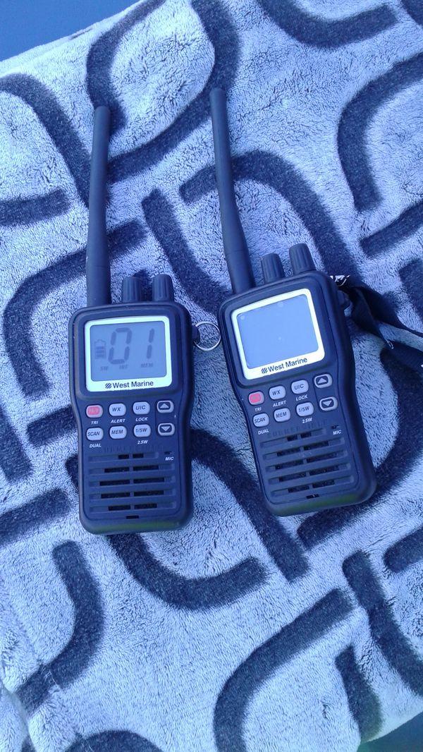 West marine walkie-talkie for Sale in Gilroy, CA - OfferUp