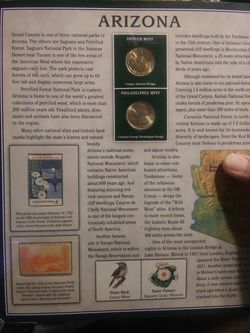 Arizona limited mint quarters. Thumbnail