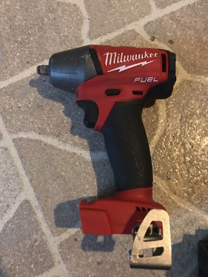 Milwaukee 3/8 inch impact gun good condition for Sale in Arnold, MO