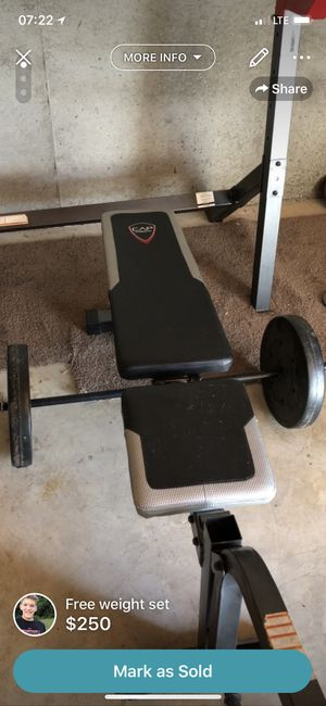 Weight set for Sale in Bunker Hill, WV
