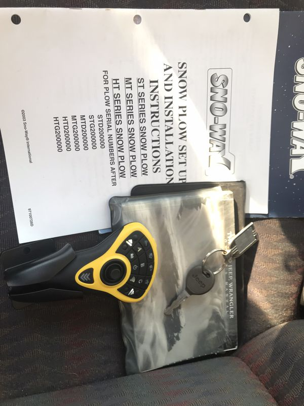 New and Used Jeep wrangler for Sale in Milwaukee, WI - OfferUp Sno Way Mtd Plow Wiring Diagram on