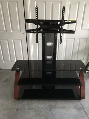 "Z line brand TV stand. Holds up to 50"" TV. In great condition. for Sale in DeBary, FL"