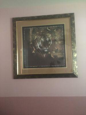 Tiger picture (Home Interiors) $35 for Sale in Manassas, VA
