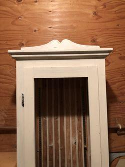 Wood Display Curio Hutch Cabinet Thumbnail