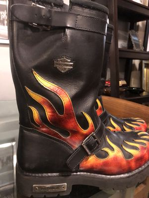 Motor Harley-Davidson Cycle Boots (Size:12) for Sale in Houston, TX