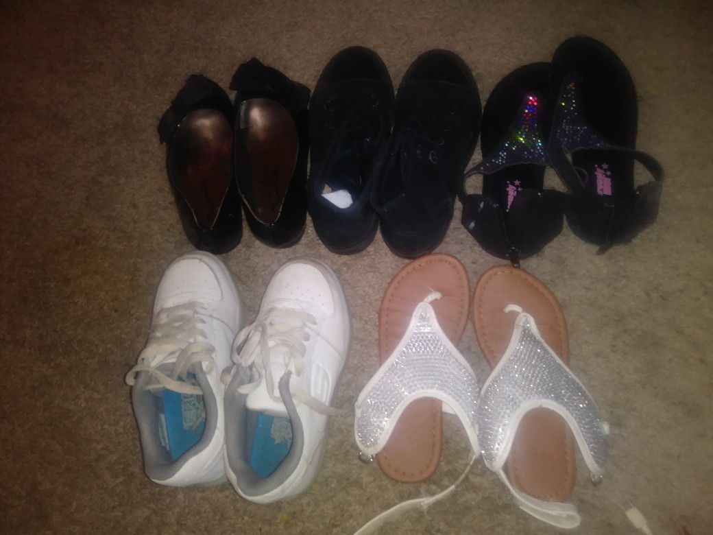 Lil girl shoes