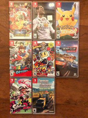 Nintendo Switch Games for Sale in Ashburn, VA