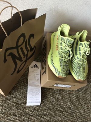 bfdb00e547424 Yeezy Boost 350 V2 Semi Frozen Yellow Size 12 for sale Fayetteville