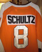 Brand new ALL stitched ccm dave schultz hockey jersey size 46 $85 o.b.o for Sale in Philadelphia, PA