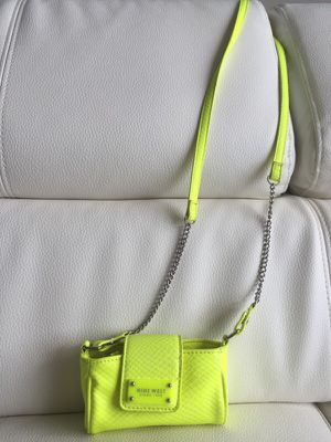 Neon Yellow Nine West Crossbody Purse for Sale in Tampa, FL