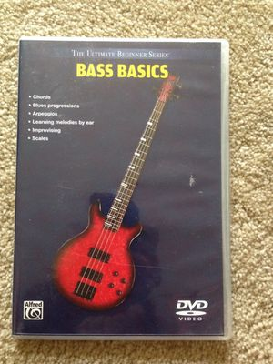 Bass Guitar Instructional DVD for Sale in Springfield, VA