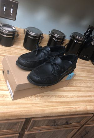 Sperry original top sided black for Sale in Orlando, FL