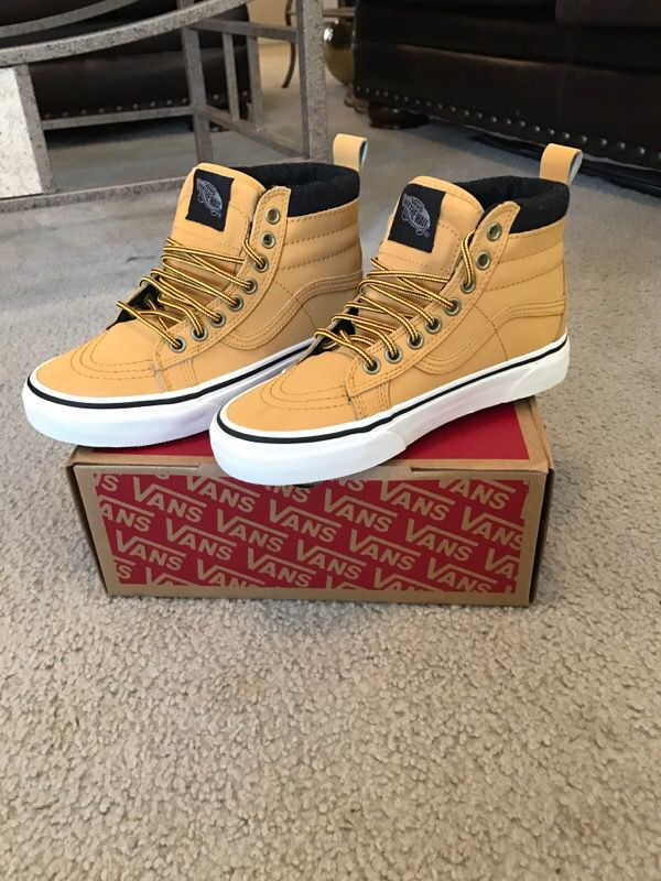 3b959470cf7 Sk8-HI MTE honey  leather vans for Sale in Virginia Beach
