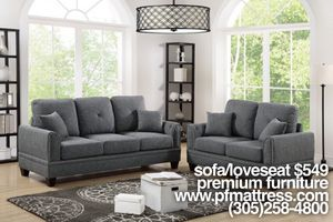 Grey sofa and loveseat for Sale in Homestead, FL