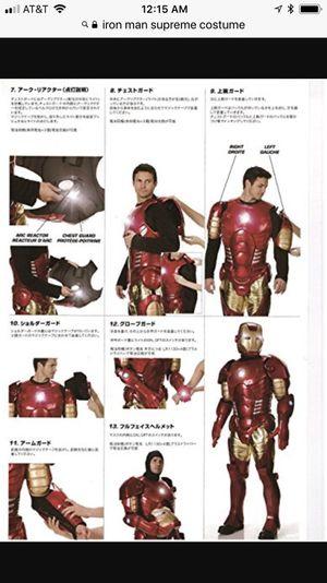 Iron Man Supreme Costume For Sale In Pacifica, CA - OfferUp