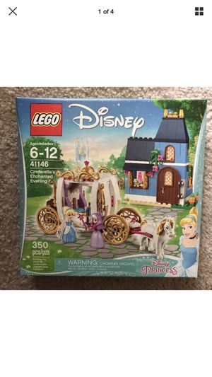 LEGO Disney Princess Cinderella Enchanted Evening Toy Set for Sale in Gaithersburg, MD