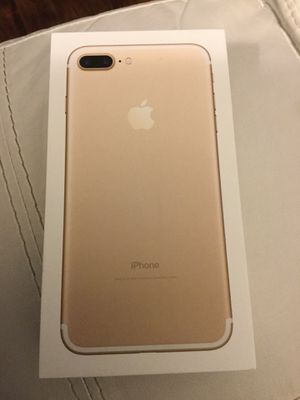 Brand new, 128GB, Apple IPhone 7 Plus, Factory Unlocked for any carrier! for Sale in Lake Ridge, VA