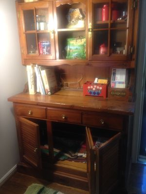 Kitchen baking cupboard and cabinet for Sale in Oakton, VA