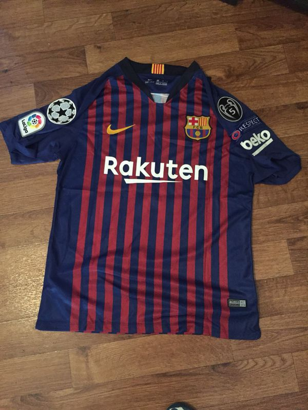 99db2a19e3a Barcelona jersey 2018 2019 size M for Sale in Briarcliff Manor