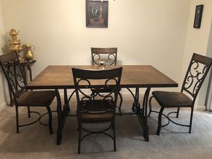 Dining table with 4 chairs for Sale in Lorton, VA