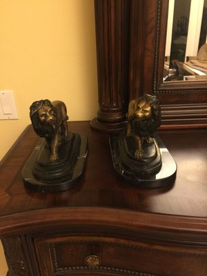 Bronze lion statue for Sale in Hialeah, FL
