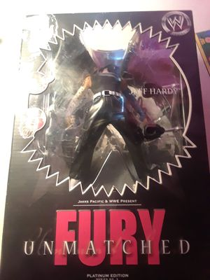 WWE Jeff Hardy Fury Unmatched Action Figure for Sale in Casselberry, FL