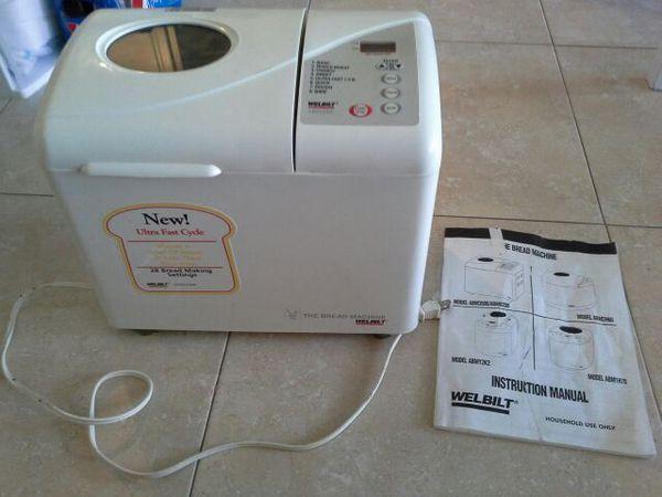 Welbilt The Bread Machine Bread Maker Perfect Working Condition