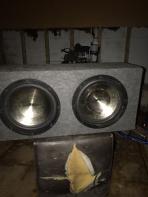 Subwoofers, Amplifiers, Door Speakers, Single Din, Double Din, Triple Din, and wires ran. for Sale in Upper Marlboro, MD