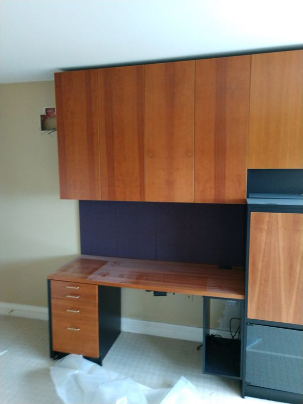 Desk Wall Unit With Pull Out TV Armoire For Sale In Pittsburgh PA - Daltile robinson pa