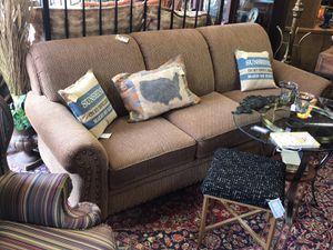 Mayo Brown Nailhead Trim Sofa for sale  Sapulpa, OK